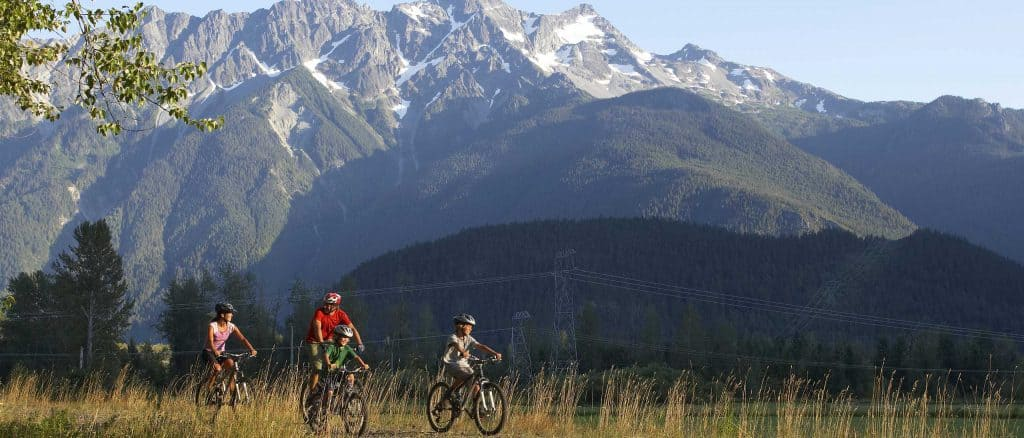Mt Currie Family Biking