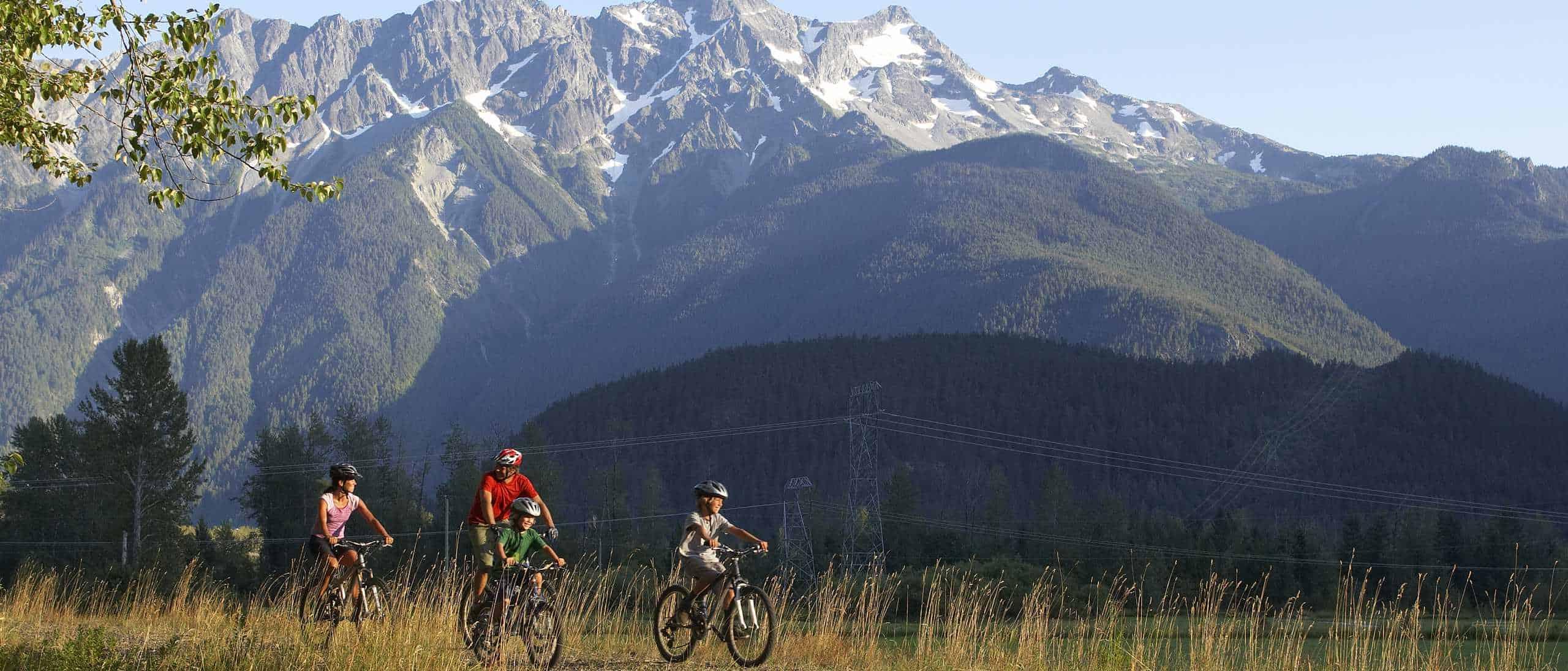 Mt Currie Family Biking