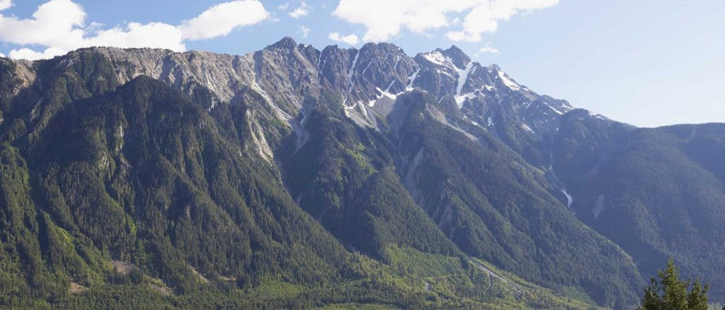 Mt Currie North Face Summer