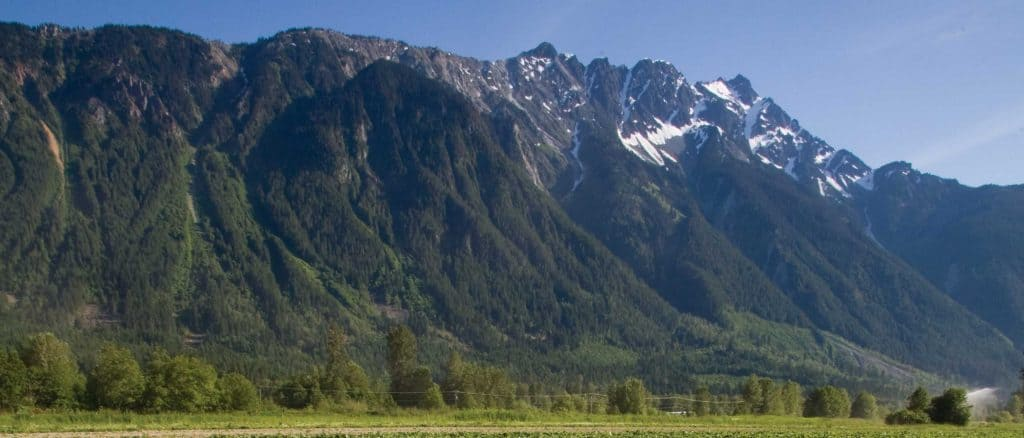 Mt Currie Pemberton View from North Arm Farm