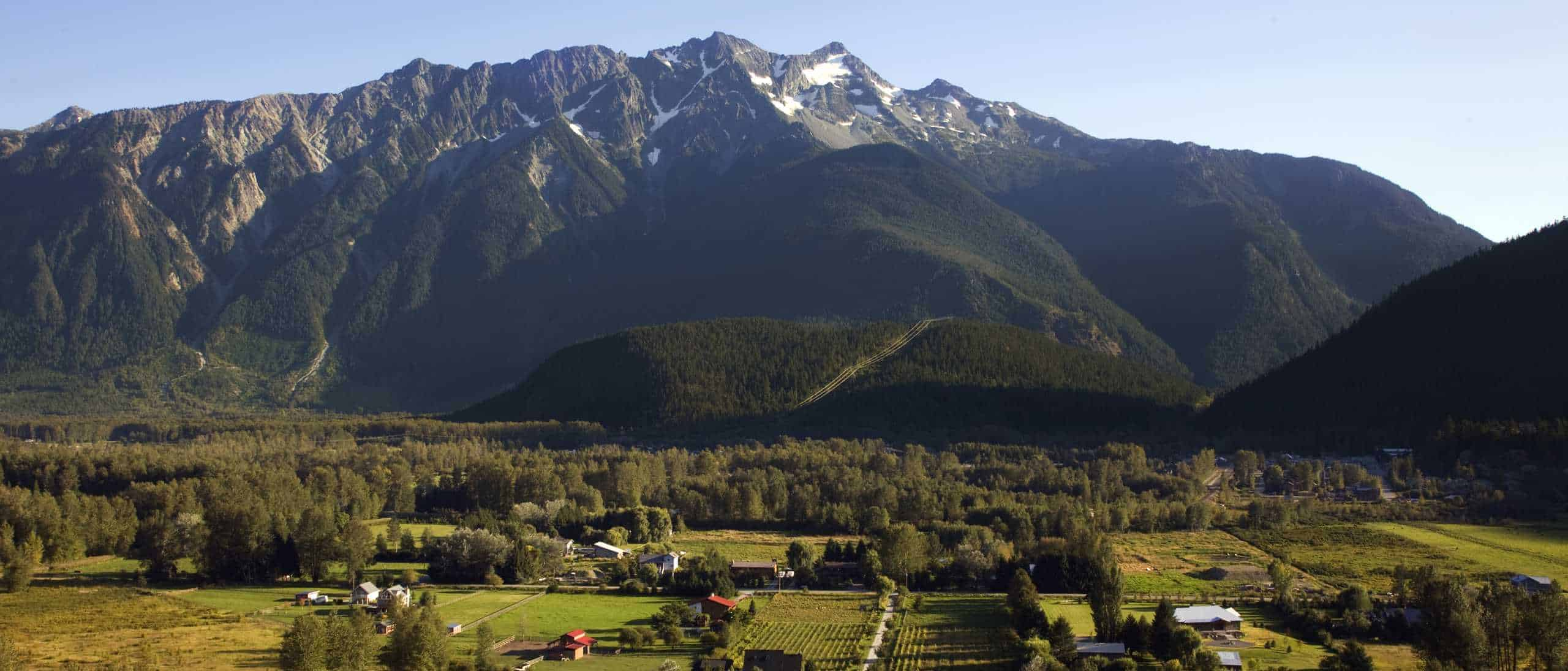 Mt Currie and Village of Pemberton
