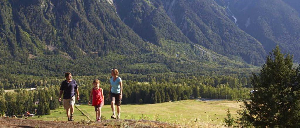 Pemberton Family Hiking