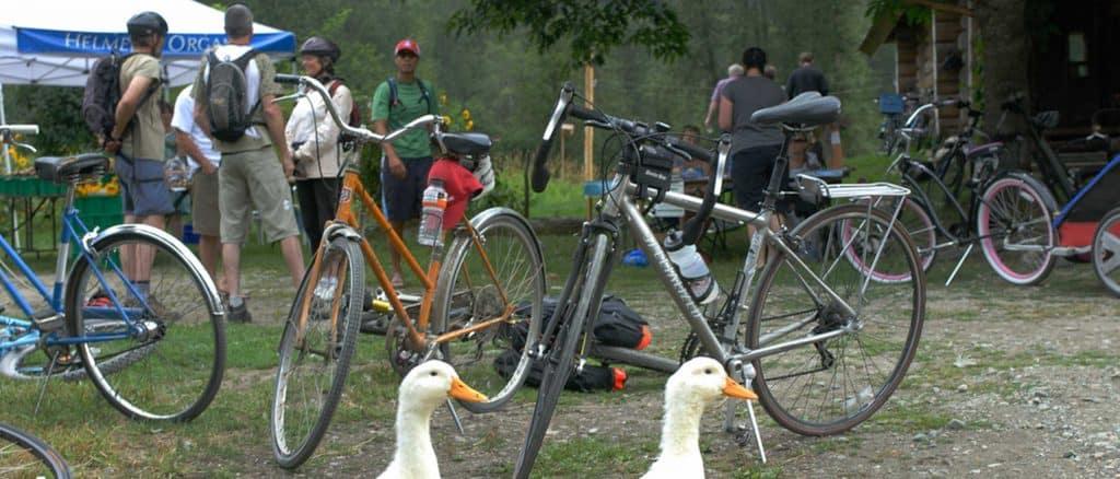 Pemberton Slow Food Cycle Sunday at Farm