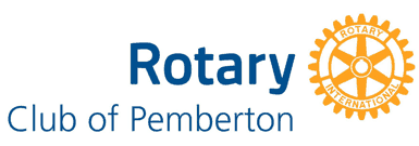 Rotary Club of Pemberton Logo